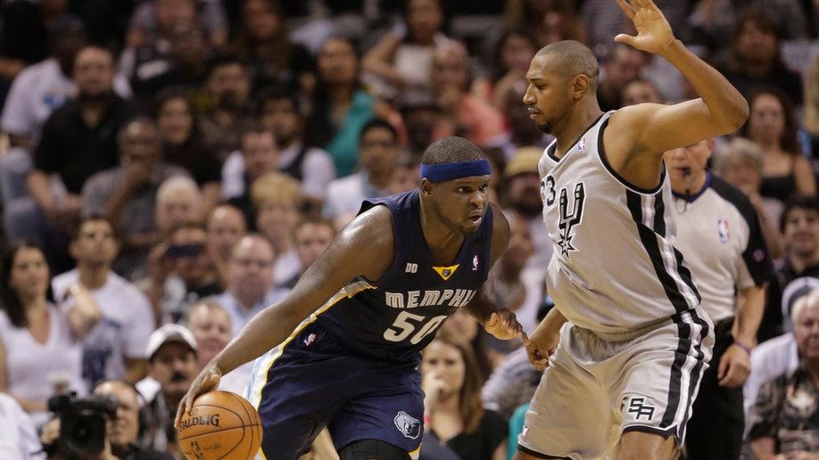 8eda3cca-Grizzlies Spurs Basketball