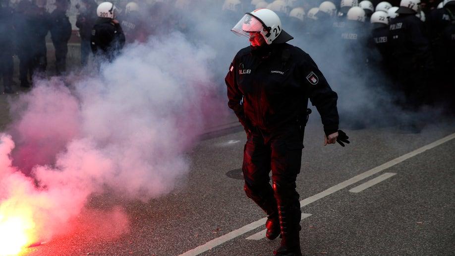 Germany Hamburg Riots