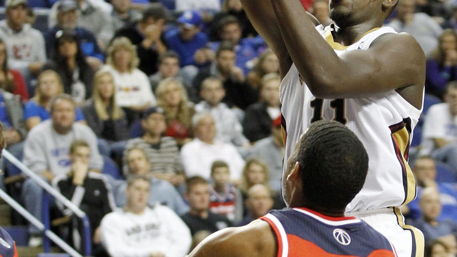 0126936e-Wizards Pelicans Basketball