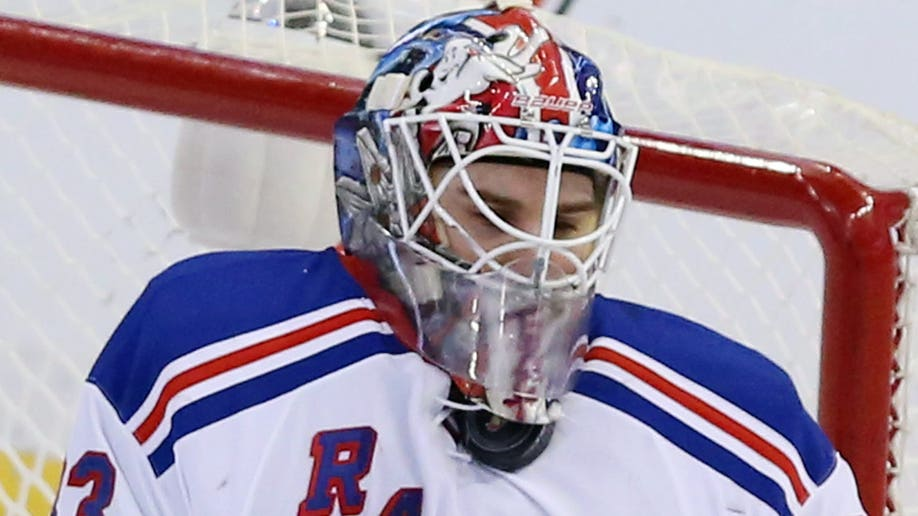 Rangers Senators Hockey