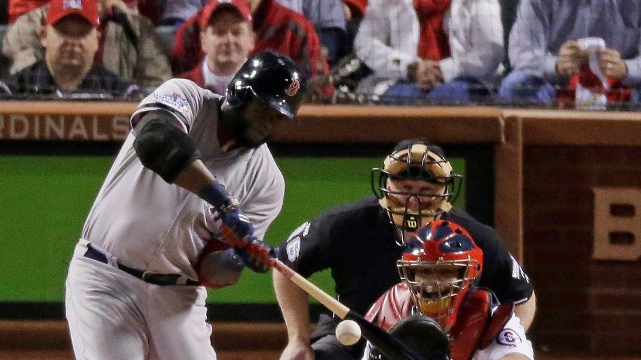 90183212-World Series Red Sox Cardinals Baseball