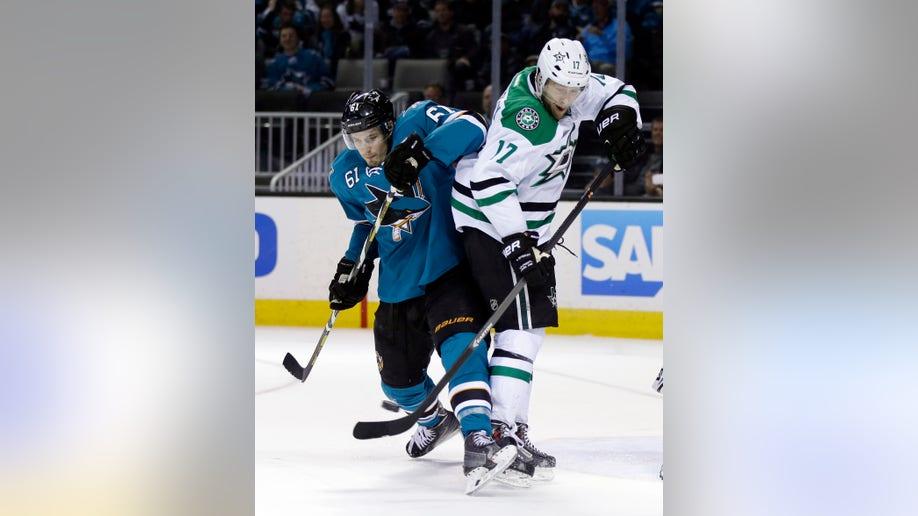 Stars Sharks Hockey