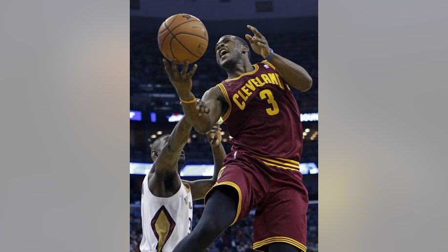 APTOPIX Cavaliers Pelicans Basketball