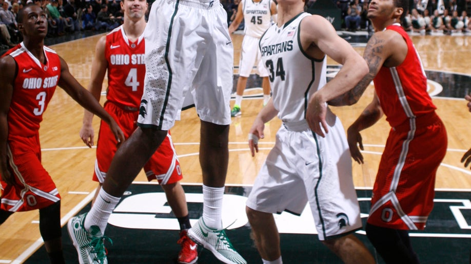 Ohio St Michigan St Basketball