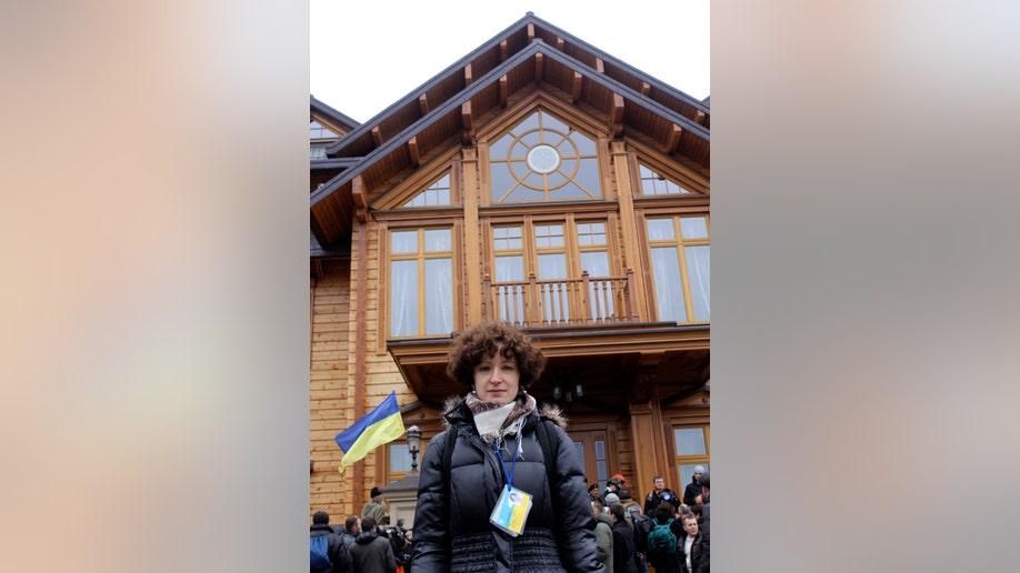 Ukraine Presidentu2019s Fallen Mansion