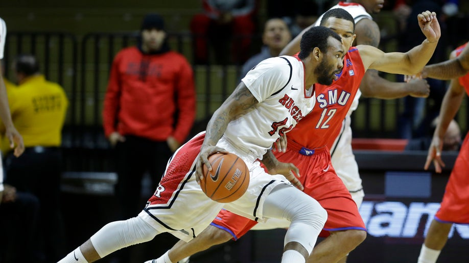SMU Rutgers Basketball