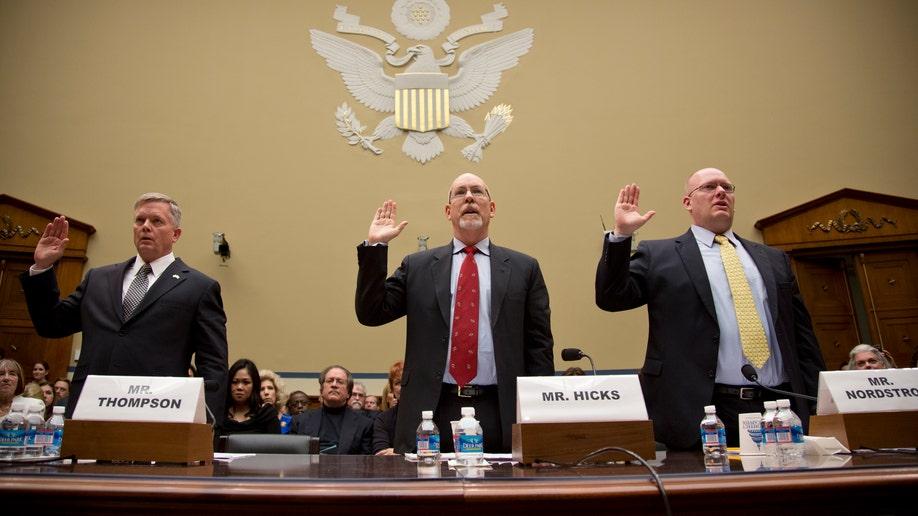APTOPIX Benghazi Investigation