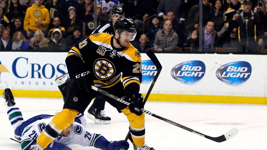 Canucks Bruins Hockey
