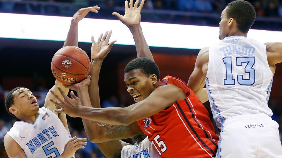 APTOPIX North Carolina Richmond Basketball