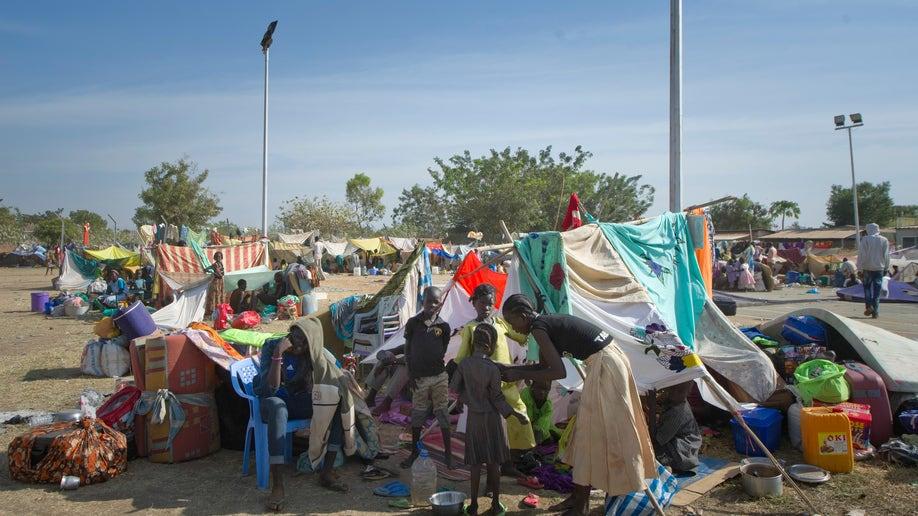 APTOPIX South Sudan Violence