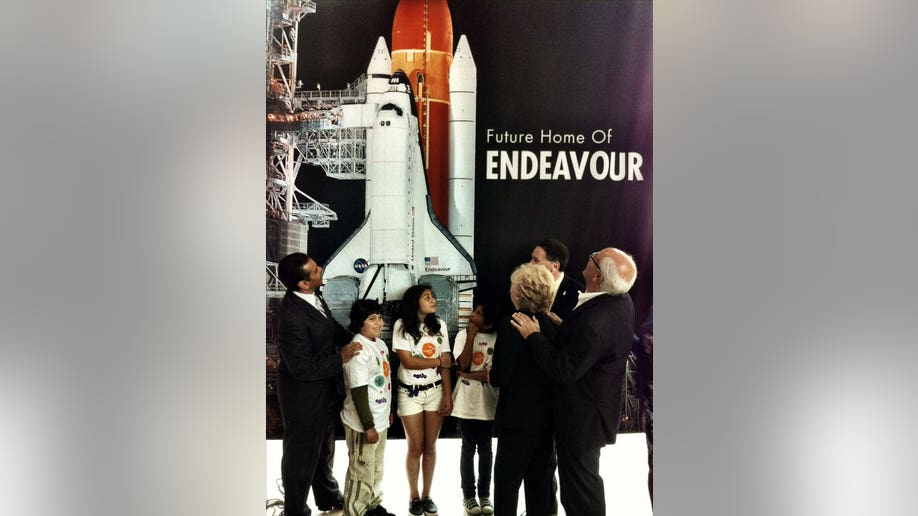 Toyota Truck To Tow Shuttle Endeavour To Calif Exhibit Home