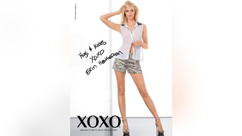 erin heatherton the new face of xoxo fox news