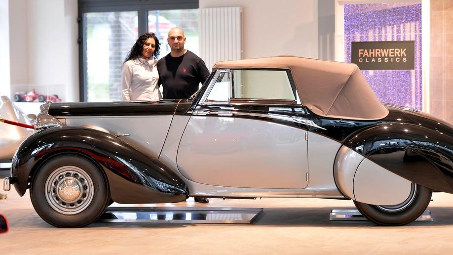 Germany Churchill's Car