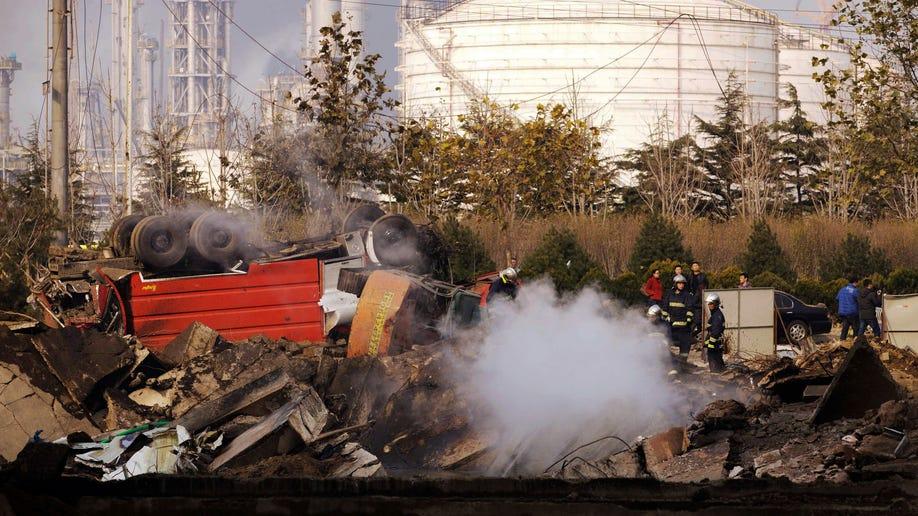 9814711e-China Oil Pipe Explosion
