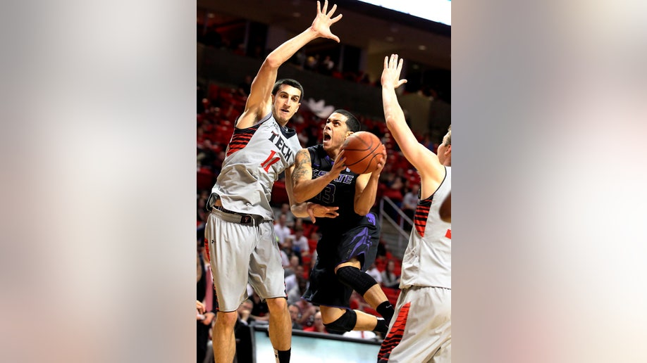 Kansas State Texas Tech Basketball
