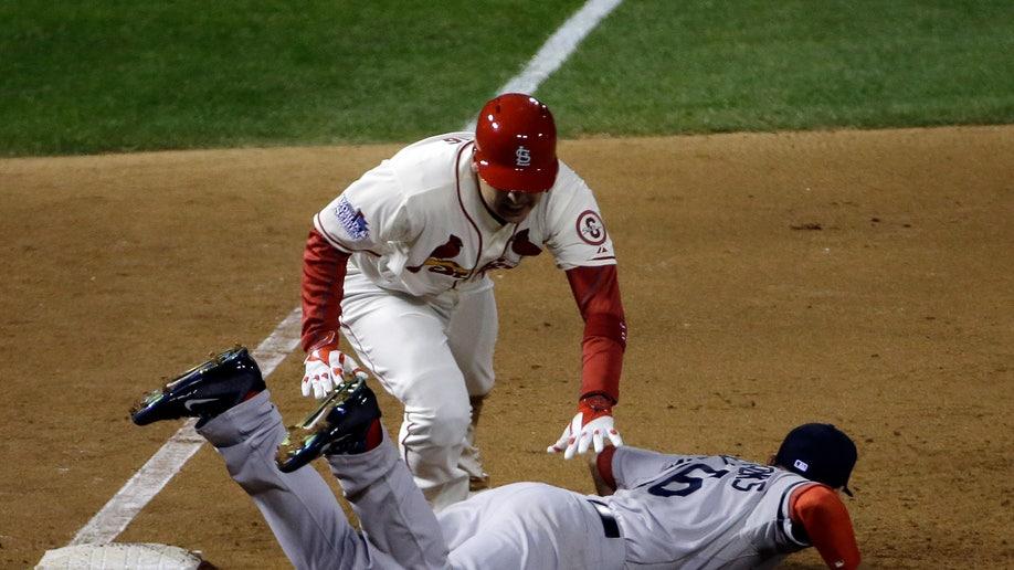 61117167-APTOPIX World Series Red Sox Cardinals Baseball