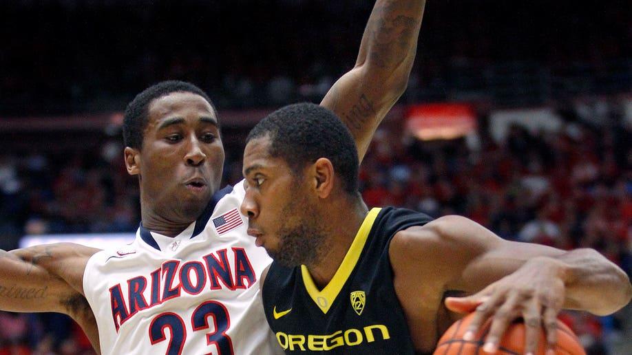 Oregon Arizona Basketball