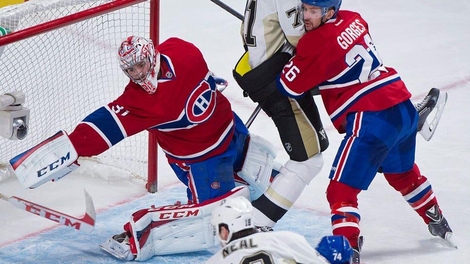 Penguins Canadiens Hockey