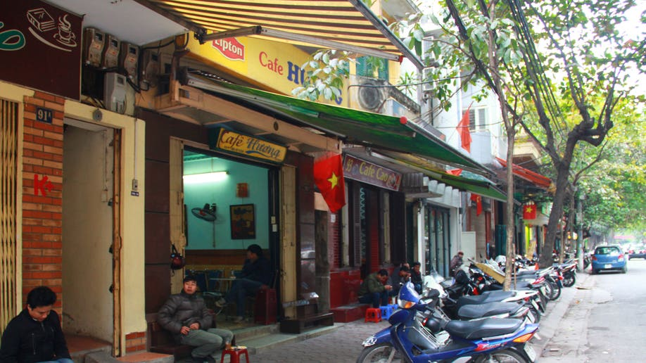 Vietnam First Starbucks