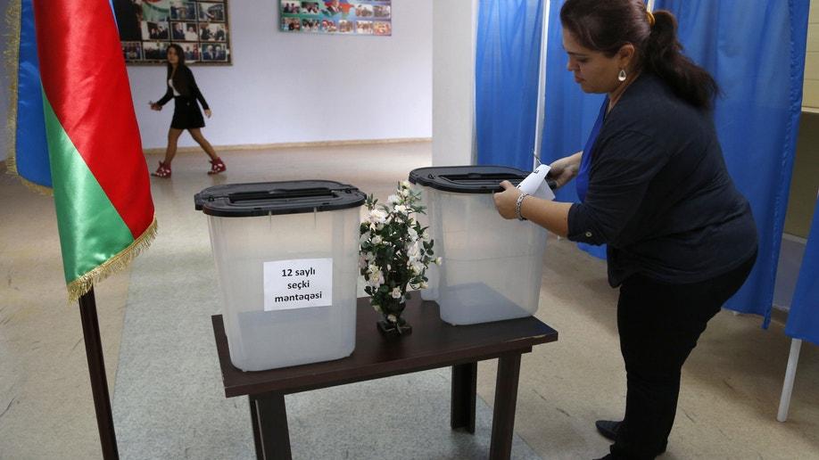 06f87761-Azerbaijan Presidential Election