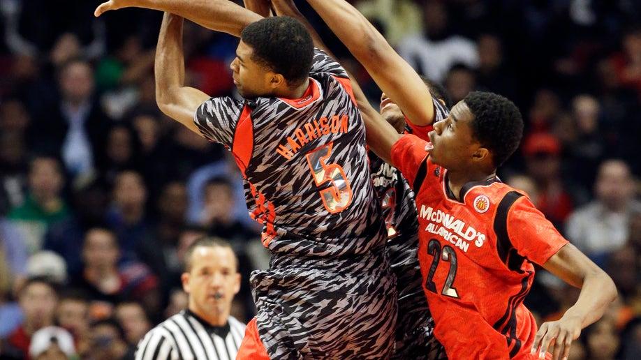 APTOPIX McDonalds Boys Basketball