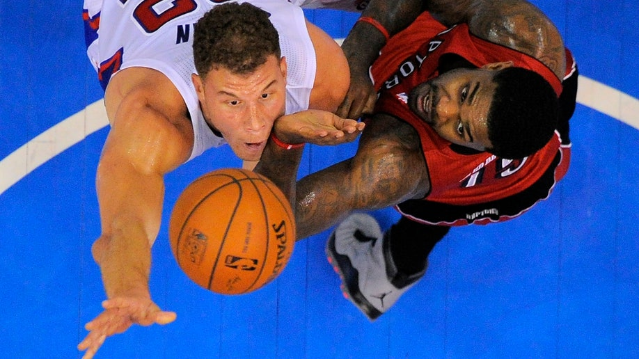 Raptors Clippers Basketball