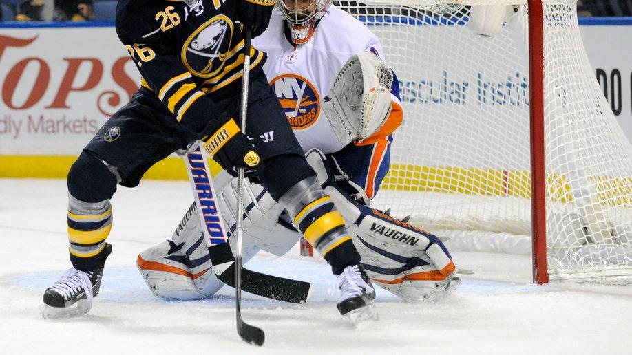 Islanders Sabres Trade Hockey