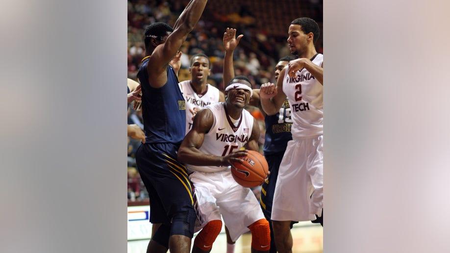West Virginia Virginia Tech Basketball