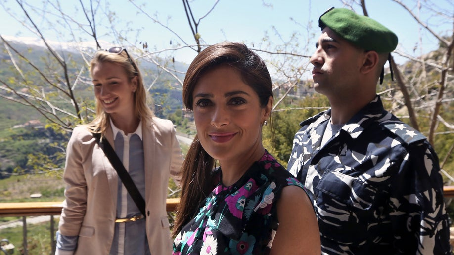 Mideast Lebanon People Salma Hayek