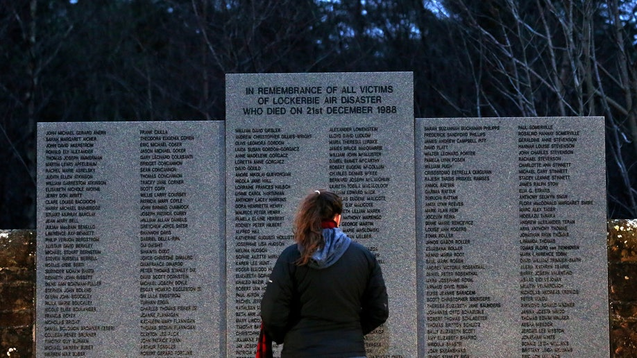 6ba44541-Britain Lockerbie 25th Anniversary