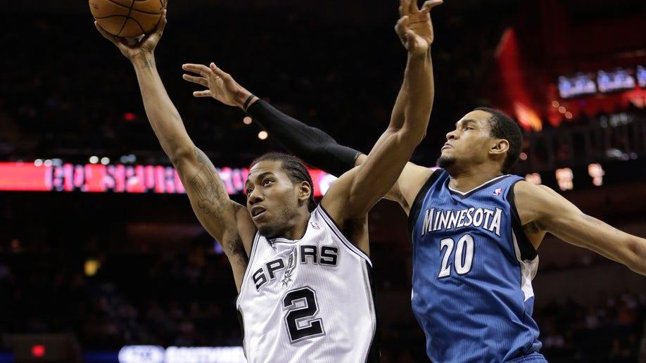 d7342504-Timberwolves Spurs Basketball