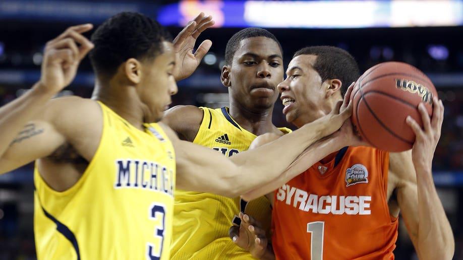 Final Four Michigan Syracuse Basketball