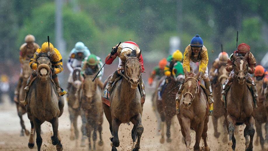 99d2fef0-Kentucky Derby Horse Racing