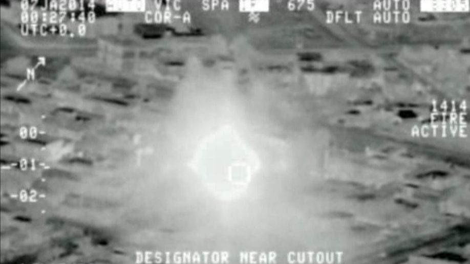 Mideast Iraq Airstrikes