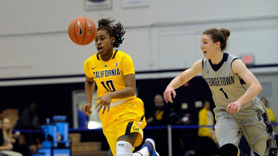 California Georgetown Basketball