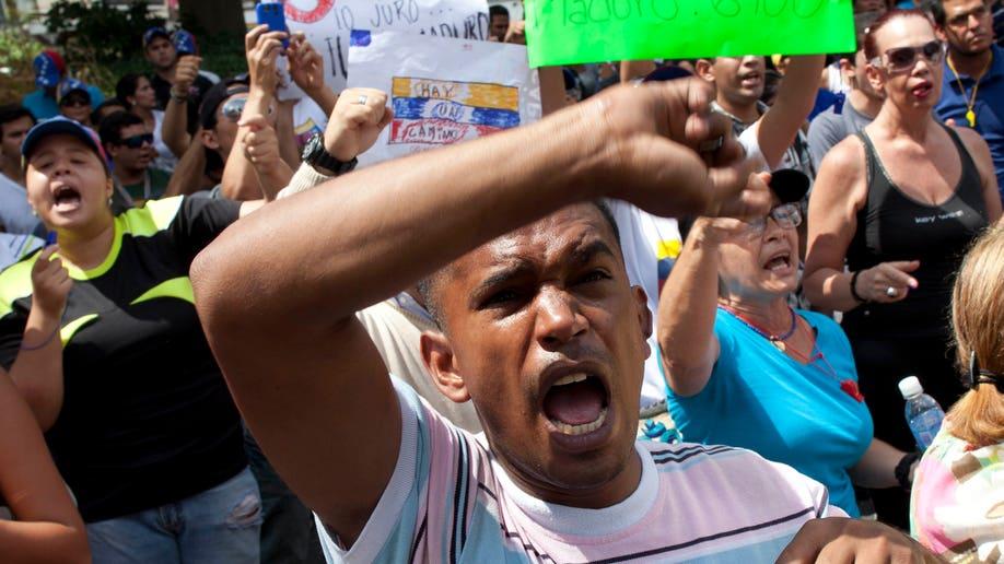 APTOPIX Venezuela Election