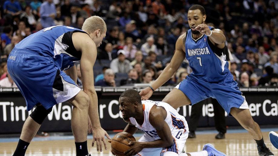 6a7bbf82-Timberwolves Bobcats Basketball