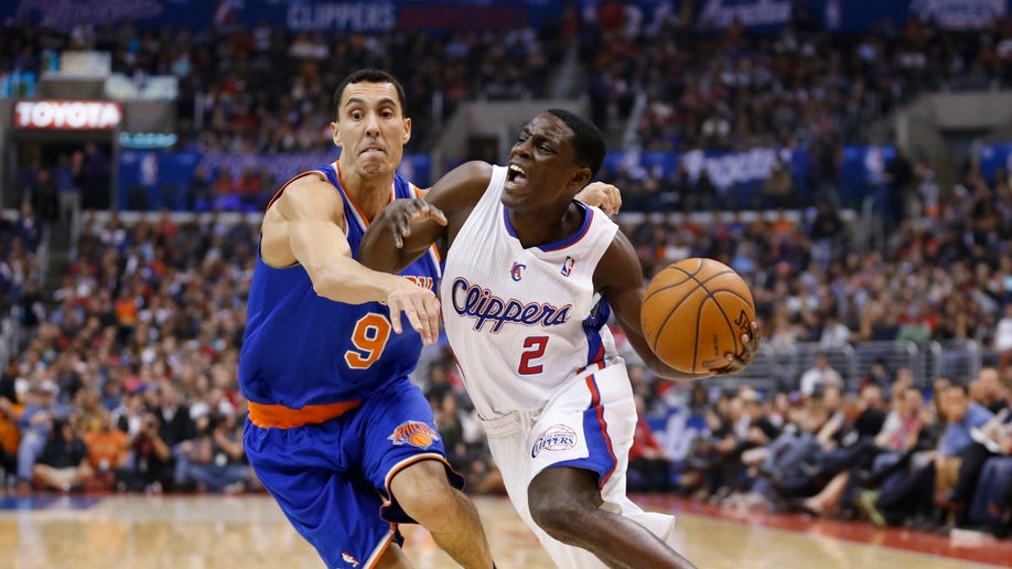 Knicks Clippers Basketball