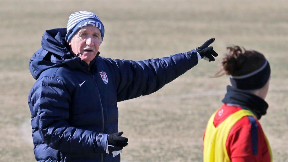 US Women Sermanni Soccer