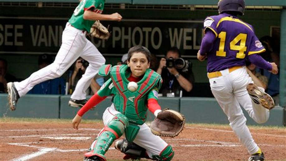 LLWS Mexico Venezuela Baseball