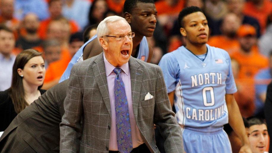 North Carolina Syracuse Basketball