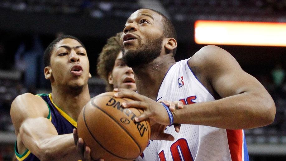 Hornets Pistons Basketball