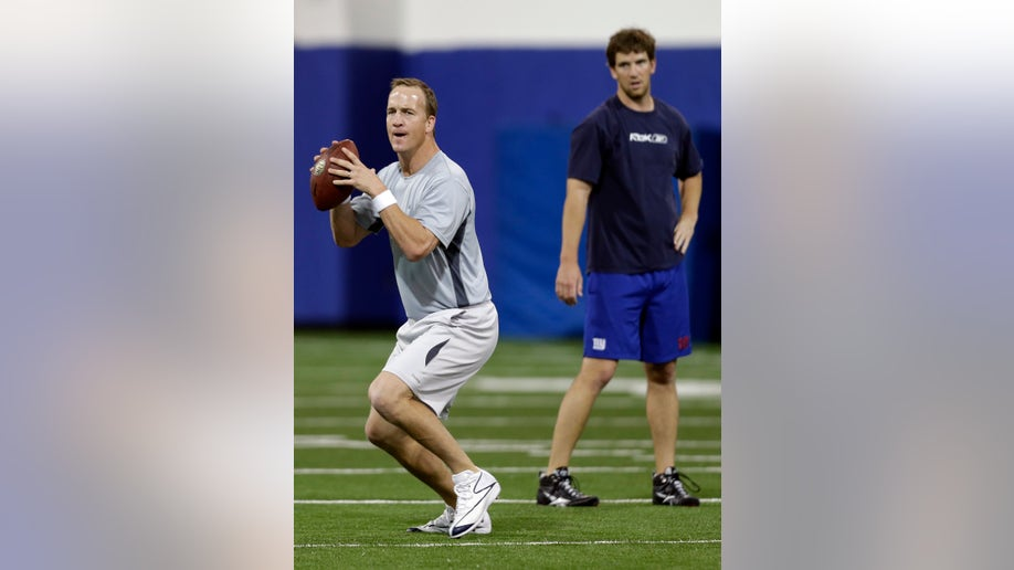 Manning Brothers Football