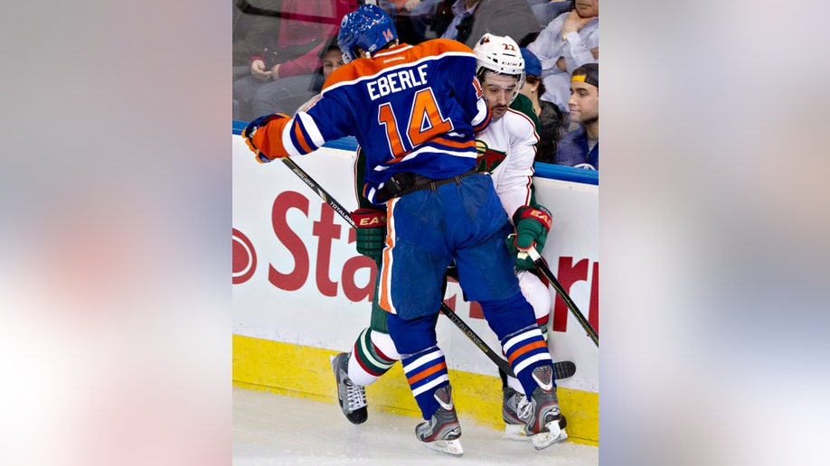 Wild Oilers Hockey
