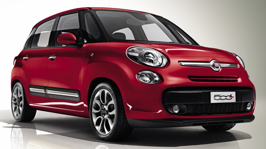 All-new Fiat 500L (European spec)