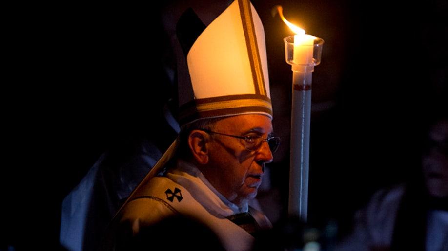 Vatican Pope Easter Vigil