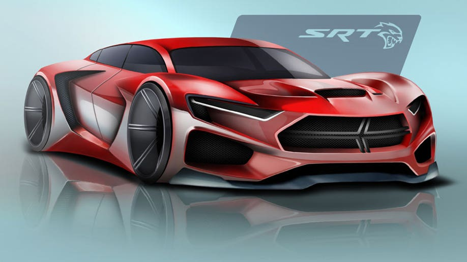 d5a946d3-The first-place winning sketch for the FCA US Drive for Design competition, designed by Ben Treinen of Archbishop Moeller High School in Cincinnati, Ohio.