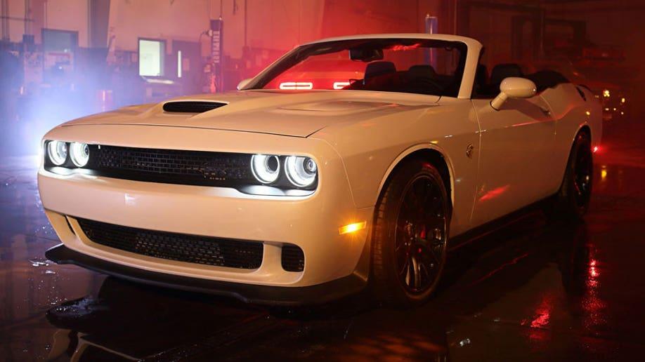 Dodge Challenger Srt Hellcat Convertible Up For Sale Fox News
