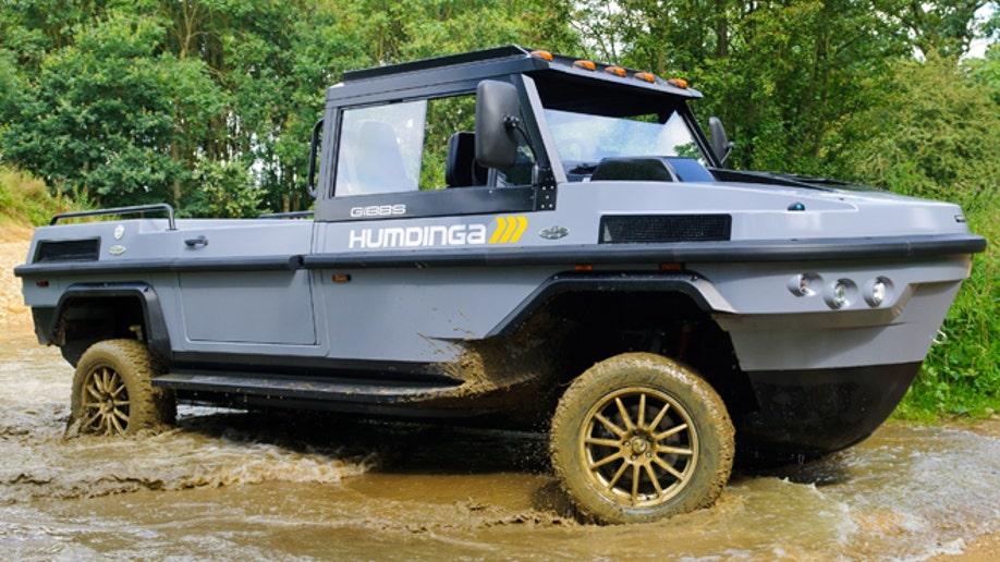 Gibbs Humdinga Amphibious Truck Sailing Toward Production Fox News