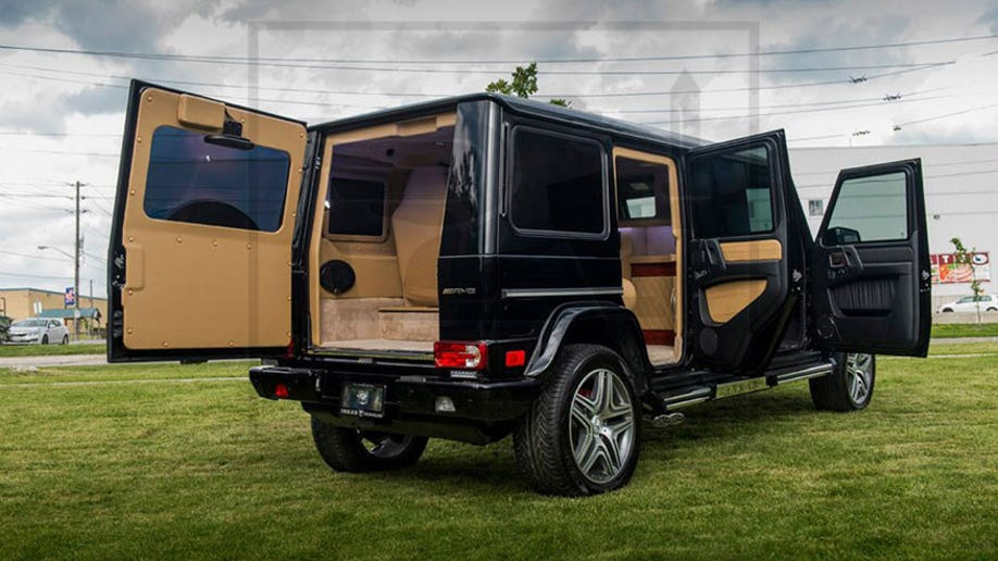 Canada's INKAS can build you an armored AMG G63 limo | Fox News